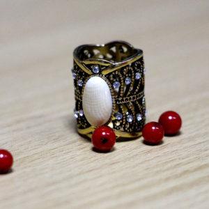 """""""Ратна"""" кольцо для шейного платка"""