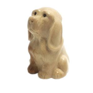 Собака из бивня мамонта
