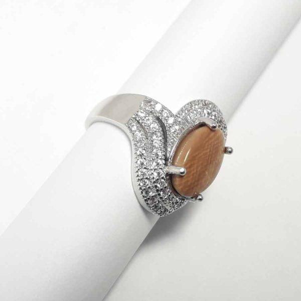 Дубай темный набор перстень