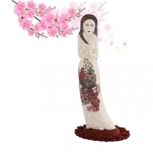 «Китаянка Мэй» восточная статуэтка из кости