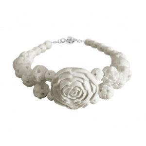 «Белая роза» браслет