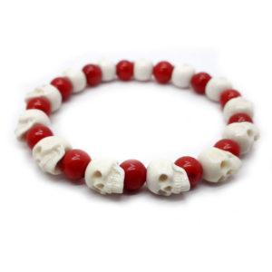 «Черепа с кораллами» браслет