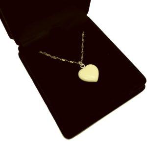 «Сердечко» кулон из бивня мамонта