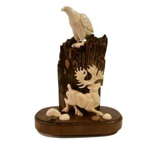 Орёл и олень