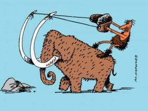 Бивень мамонта. Об ископаемых ценностях с юмором